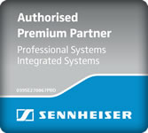 Authorised Sennheiser Premium Partner for Professional Systems and Integrated Systems